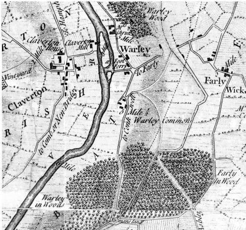 Thomas Thorpe's map of 1742
